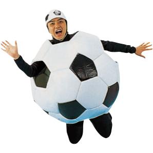 サッカーボールスーツ